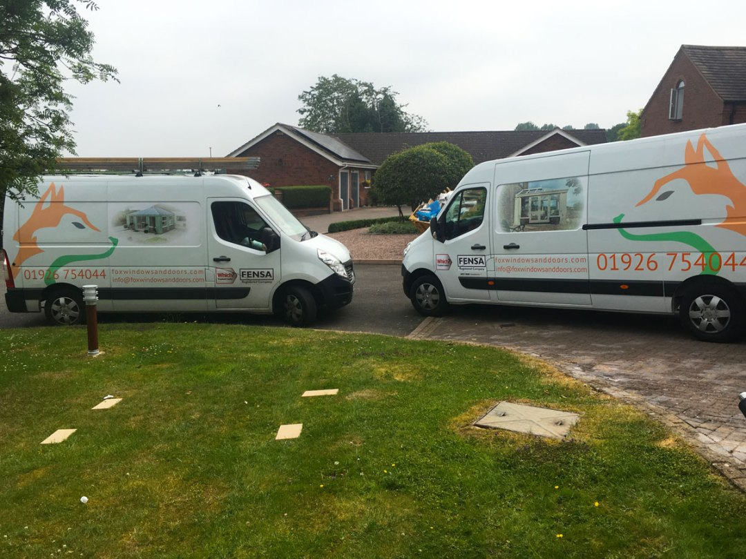 Fox Windows and Doors fleet