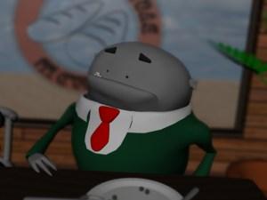 3D Character Glob