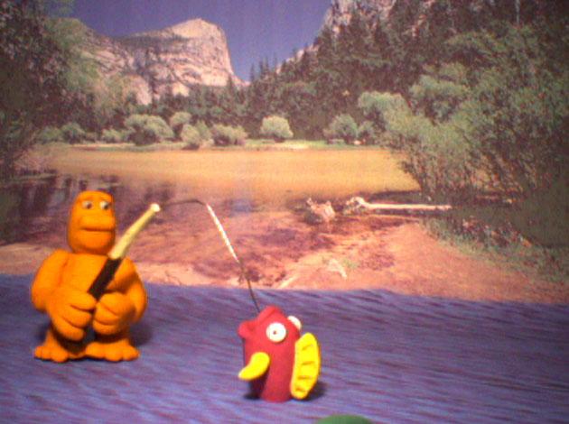 Stop Frame Gone Fishing 4