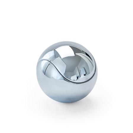 Morso chrome fire ball tealight holder