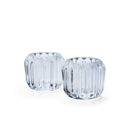 Morso Gears Tealight Holder in Crystal