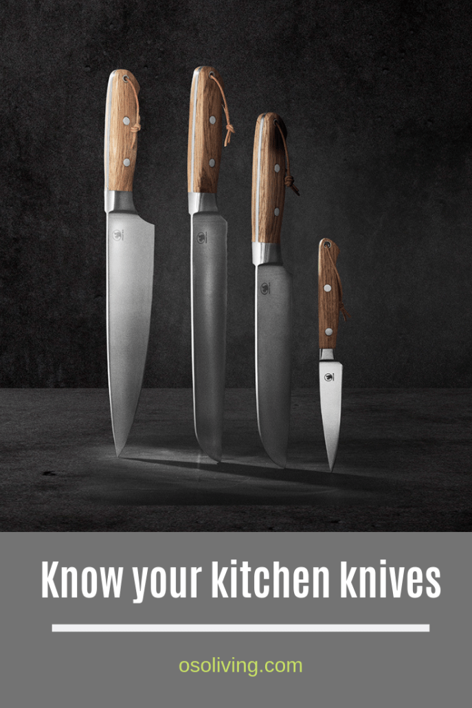 know your kitchen knives : from santoku to paring, bread to steak, which knives do you need in your kitchen and which are surplus