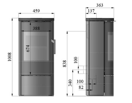 morso 4156 dimensions