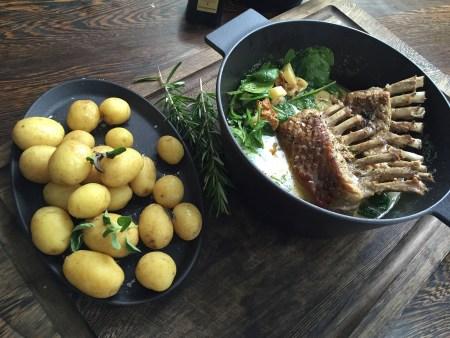 Morso Danish black cast iron casserole dish