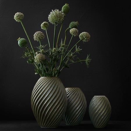 morso river vase in green