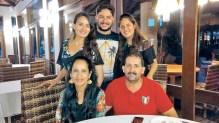 Família reunida em comemoração aos 55 anos do meu querido pai Gerson Moraes. Felicidades!!!