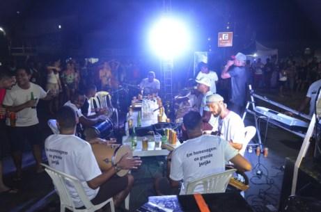 Encontro do samba prestou homenagem à sambista caravelense (3)