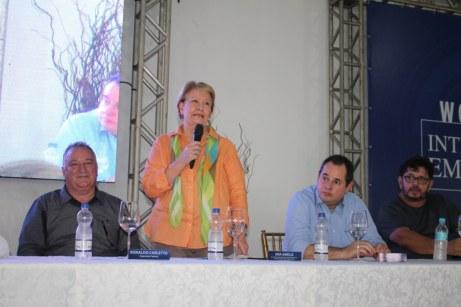 A senadora, Ana Amélia