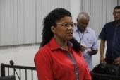 A vereadora Erlita Freitas