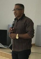 Pastor Elson Ribeiro, presidente da Apetf