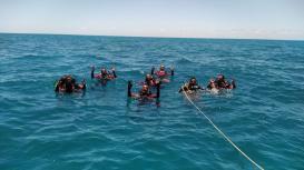 18 GBM Teixeira de Freitas treinamento combate a incendio atividades de mergulho autonomo resgate extremo sul da bahia (7)