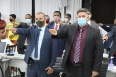 posse prefeito vice vereadores camara municipal prefeitura de teixeira de freitas presidente da mesa diretora (51)
