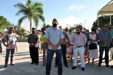 lajedao prefeito tonzinho limpeza publica prefeitura gari entrega de uniforme caminhao tele entulho compactador (14)