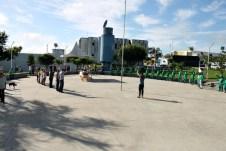 lajedao prefeito tonzinho limpeza publica prefeitura gari entrega de uniforme caminhao tele entulho compactador (19)