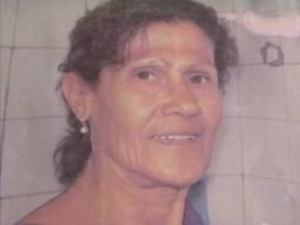 Maria de Lourdes, de 65 anos