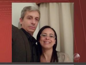 Casal foi alvo de atentado e mulher foi morta (Foto: Reprodução/TV Sudoeste)