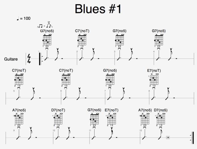 Grille - Blues #1 réduit