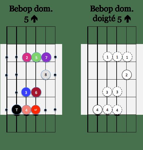 gamme Bebop dom 5 up
