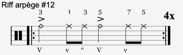 riff arpège #12