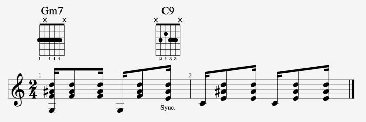 rythmique bossa #2