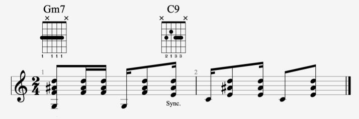 rythmique bossa #3