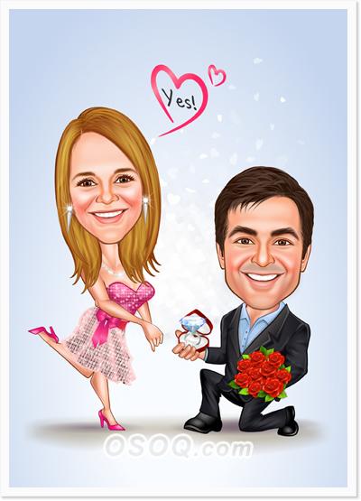 Wedding Caricatures Osoq Com