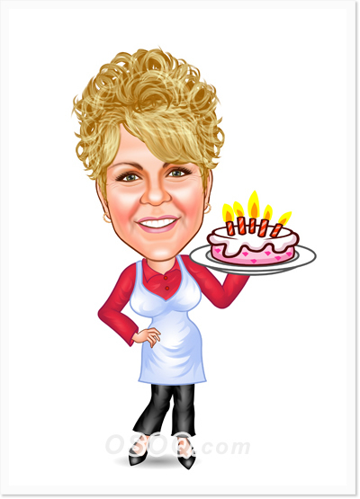 Birthday Caricatures | Osoq.com