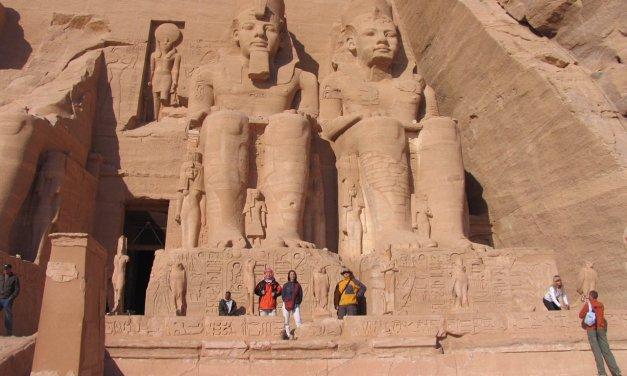 Abu simbel: El templo del Rey.