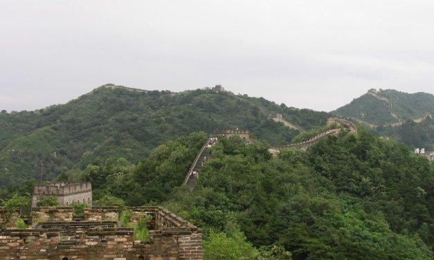 La Gran Muralla China desde Beijing