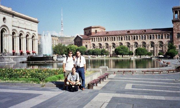 Una visita a Yerevan en obras