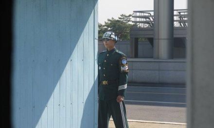 Cruzando el paralelo 38. La DMZ entre las dos coreas.