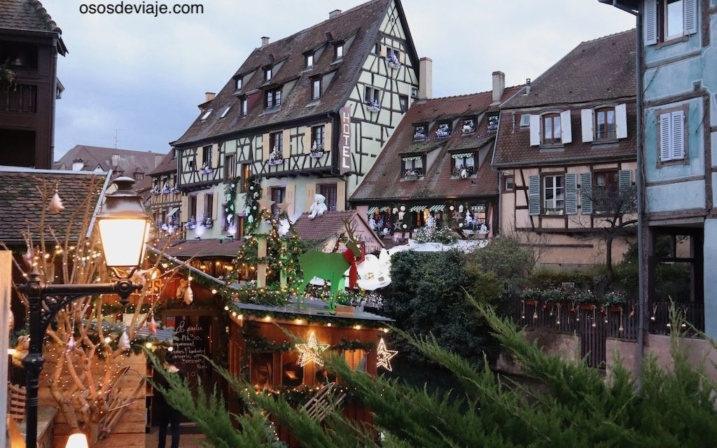 Colmar y sus mercados navideños con niños