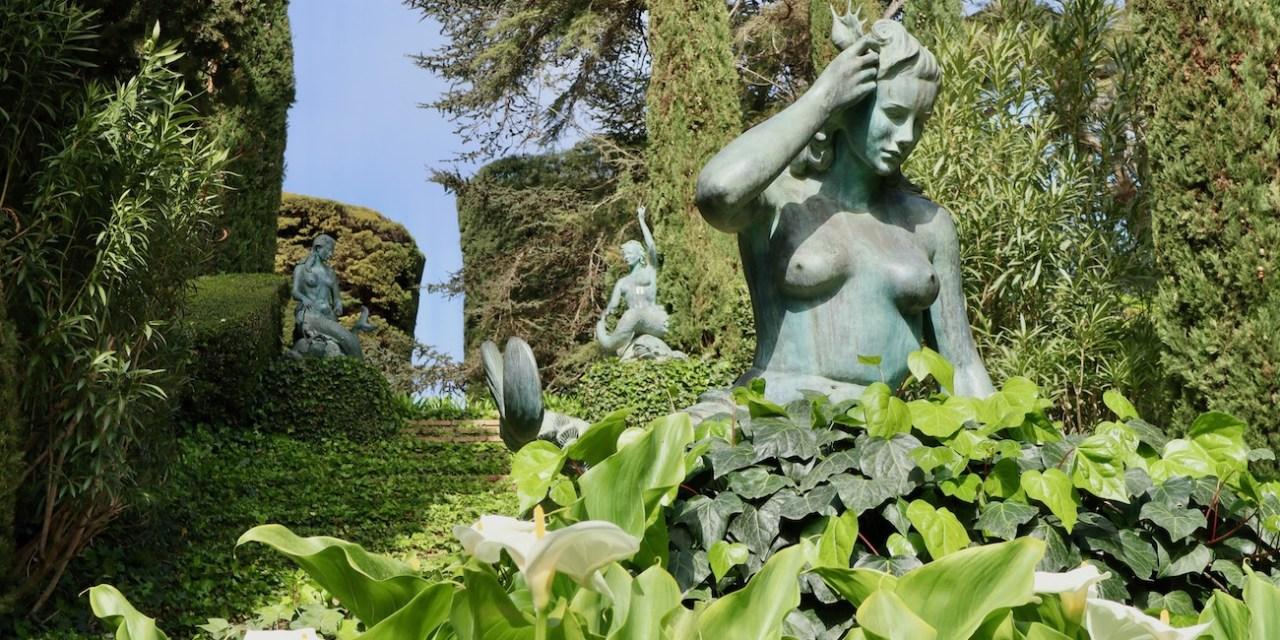 Visita a los jardines de Santa clotilde y de Marimurtra con niños