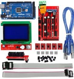 ramps 1 4 3d printer board marlin firmware installation guide rh osoyoo com ramps 1 4 kit ramps 1 4 board [ 1000 x 1000 Pixel ]