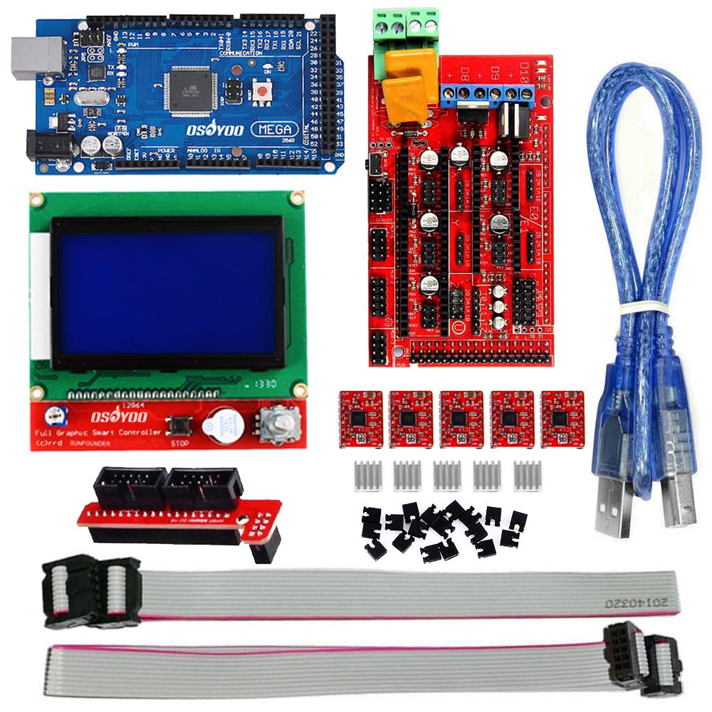 hight resolution of ramps 1 4 3d printer board marlin firmware installation guide rh osoyoo com ramps 1 4 kit ramps 1 4 board