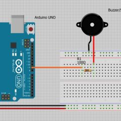 Speaker Wiring Diagram 6 Ohm Strip Anchor Chart Arduino Buzzer Turorial « Osoyoo.com