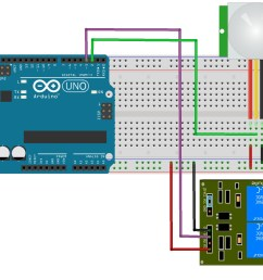the output pin of the sensor will be connected to pin number 2 on the arduino board and when an object will be detected the pin number 3 will activate the  [ 1755 x 1332 Pixel ]