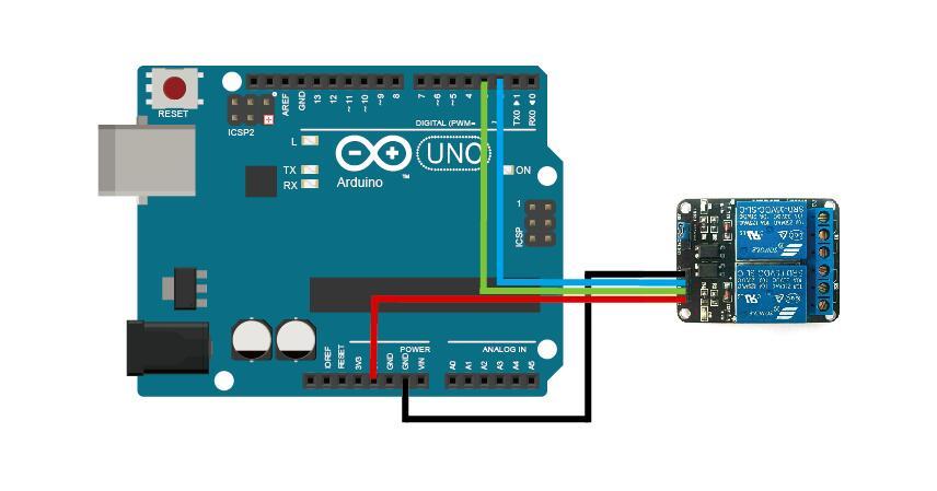 turn signal wiring diagram car starter motor arduino lesson – 2-channel relay module « osoyoo.com