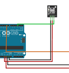 the wiring for the ir receiver and servo motor are shown in pictures follow the steps for wiring in the pictures  [ 1872 x 1203 Pixel ]