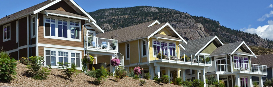 Osoyoos Cottages Modern Beachfront House At Osoyoos