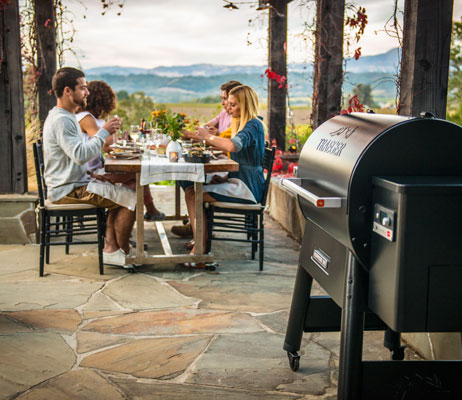 Stihl tools and Traeger grills at Osoyoos Home Building Centre.