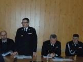 Wiceprezes zarządu OP ZOSP RP – druh Stanisław Weremczuk podczas przemówienia