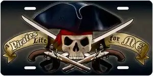 Pirates Life for Me License Pla 1