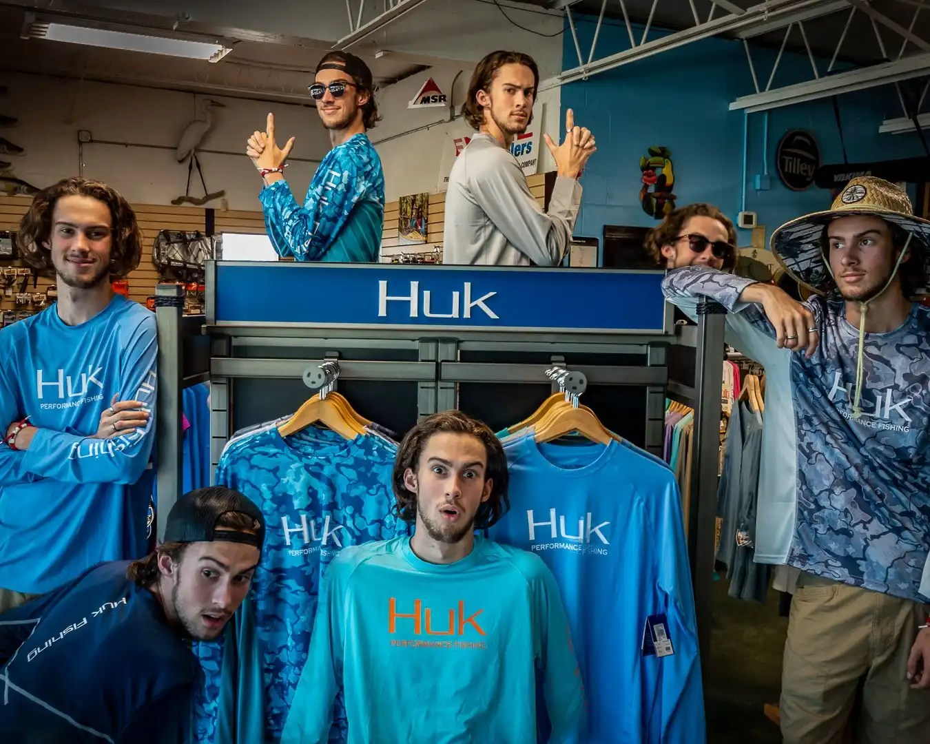 HUK Performance Fishing Apparel now in stock