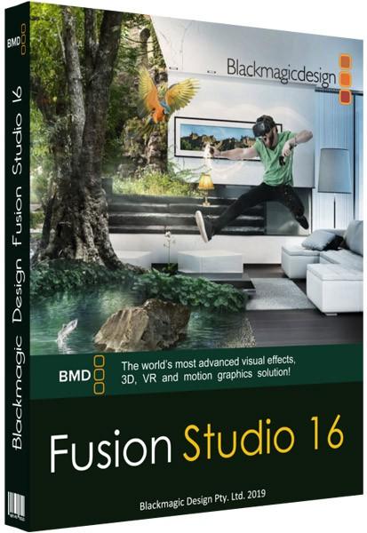 Blackmagic Design Fusion Studio 16 1 0 Crack