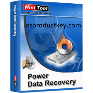 MiniTool Power Data Recovery 9.1 Crack With License Key Free Download