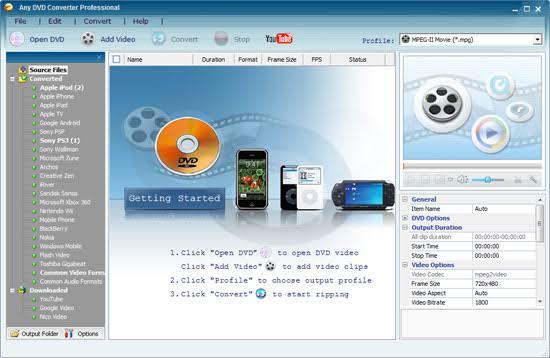 Any DVD Converter Pro 6.3.4 Crack + Product Key Full Free 2020