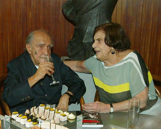 Anna Maria Niemeyer - Oscar Niemeyer morreu