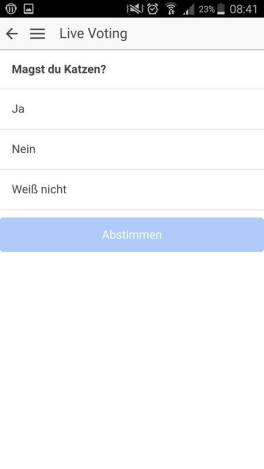 ImageScreenshot_LiveVoting call