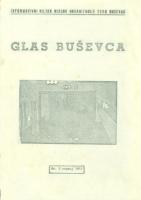 Ogranak Seljačke sloge – Glas Buševca br. 9